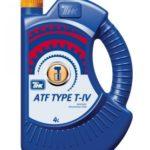 ATF Type T-IV/ATF III Synt/ATF III/ATF IID